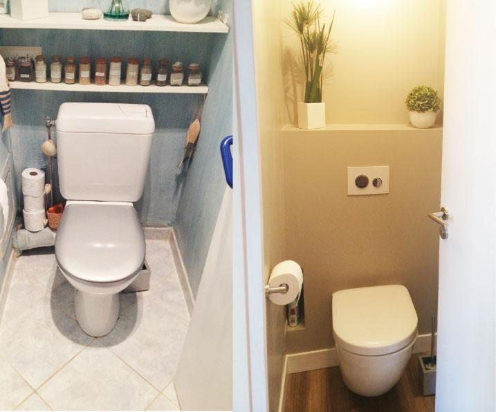 WC, toilettes, Cuvette TOTO, Plaque de déclenchement TECE